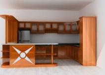 Kệ bếp gỗ căm xe